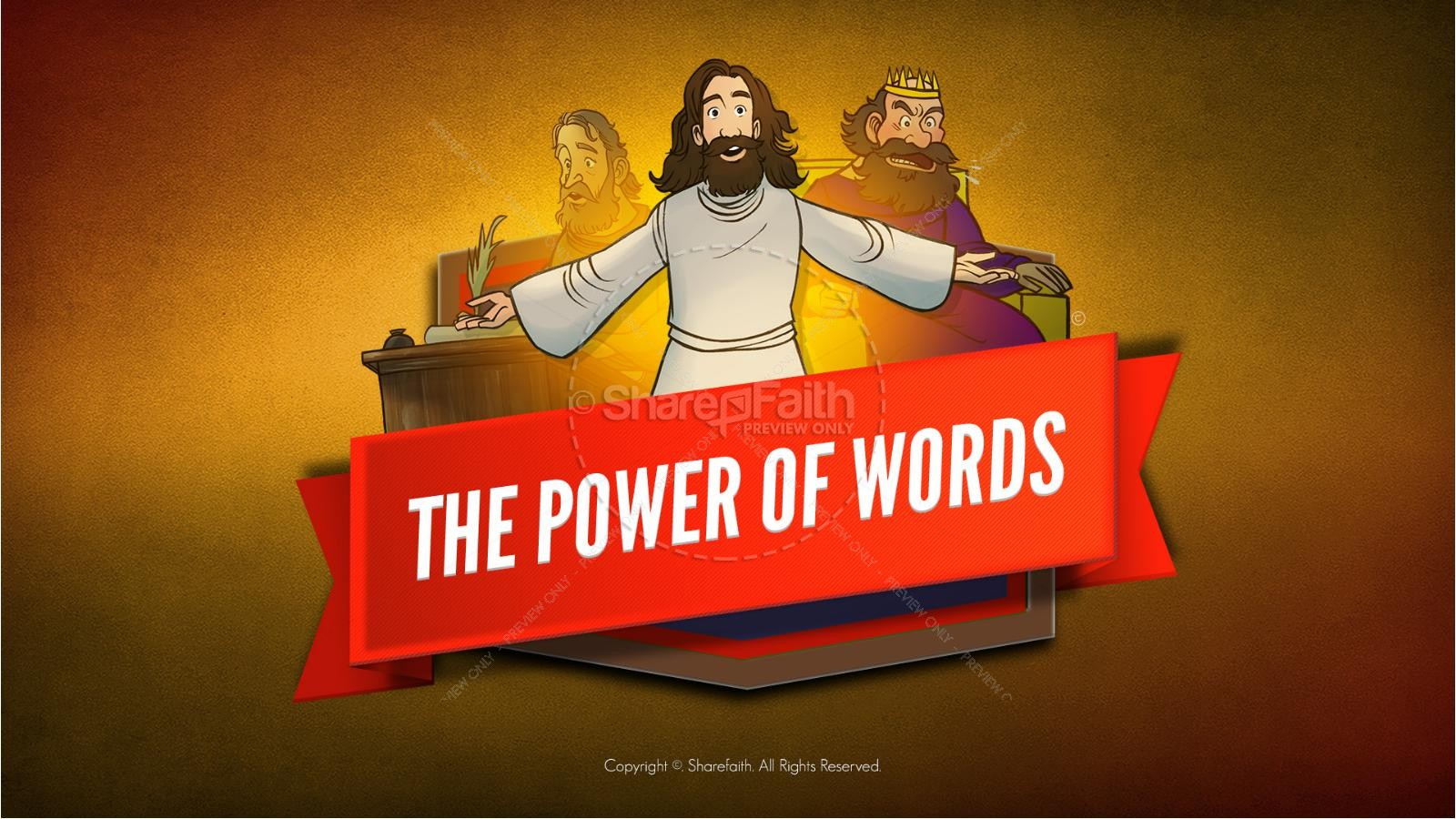 James 3 The Power of Words Kids Bible Story | slide 1