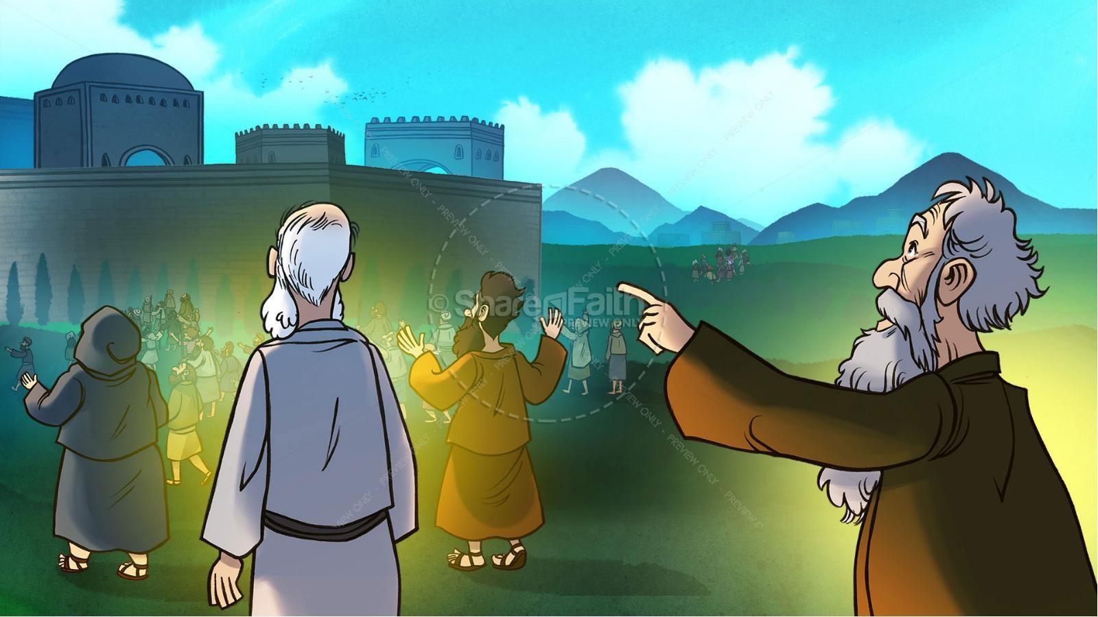 Ezekiel 37 Valley of Dry Bones Kids Bible Story   slide 8