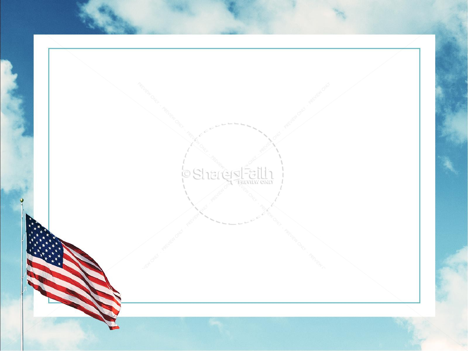 Veterans Day American Flag Graphic