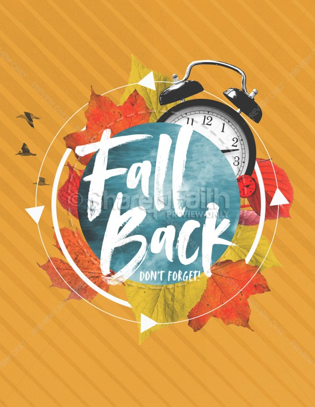 Fall Back Service Flyer | page 1