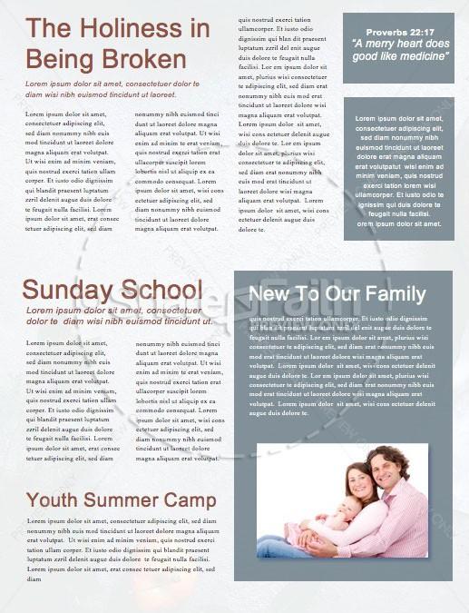 Thanksgiving Dinner Church Newsletter | page 2