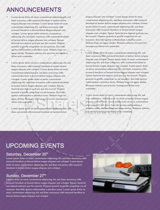 The First Noel Christmas Church Newsletter | page 4