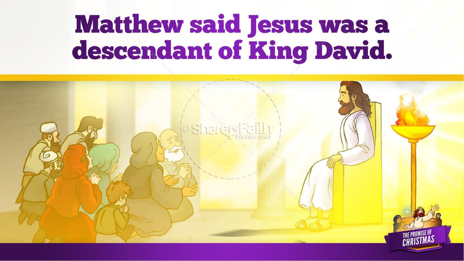 The Promise of Christmas Kids Bible Story | slide 16