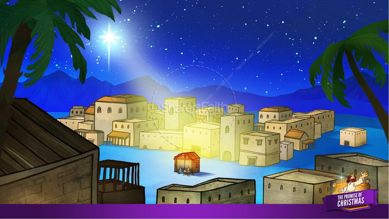 The Promise of Christmas Kids Bible Story | slide 18