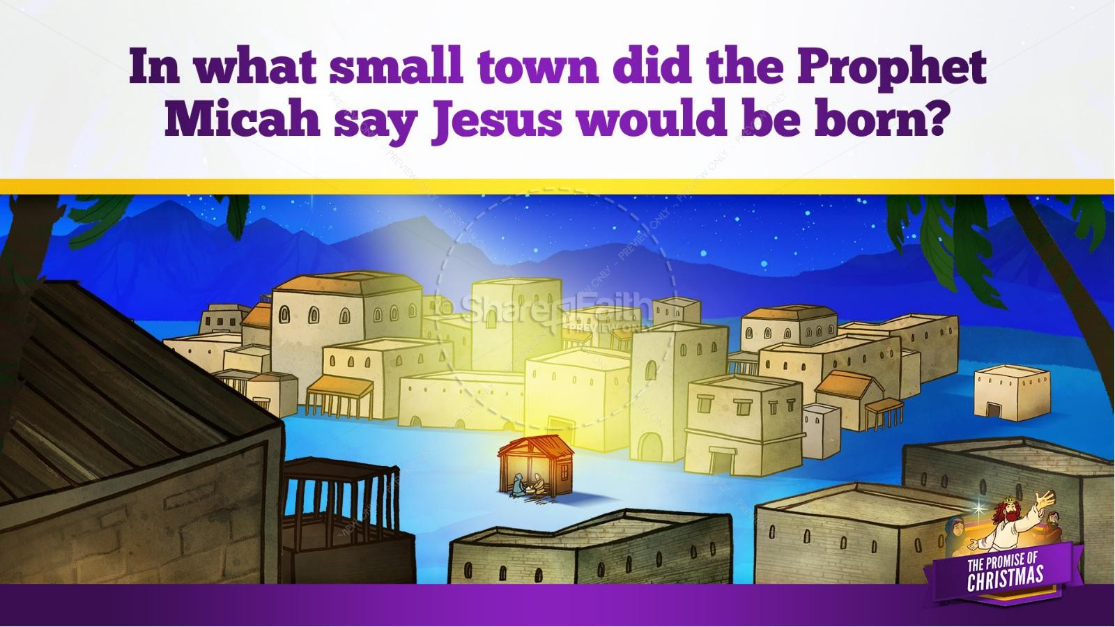 The Promise of Christmas Kids Bible Story