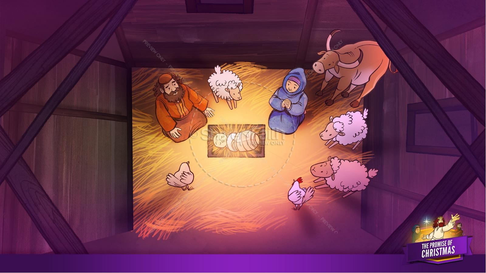The Promise of Christmas Kids Bible Story | slide 22