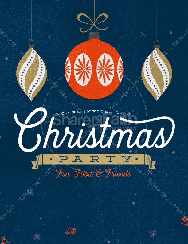 christmas party invitation flyer template flyer templates