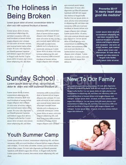 Christmas Journey Church Newsletter | page 2