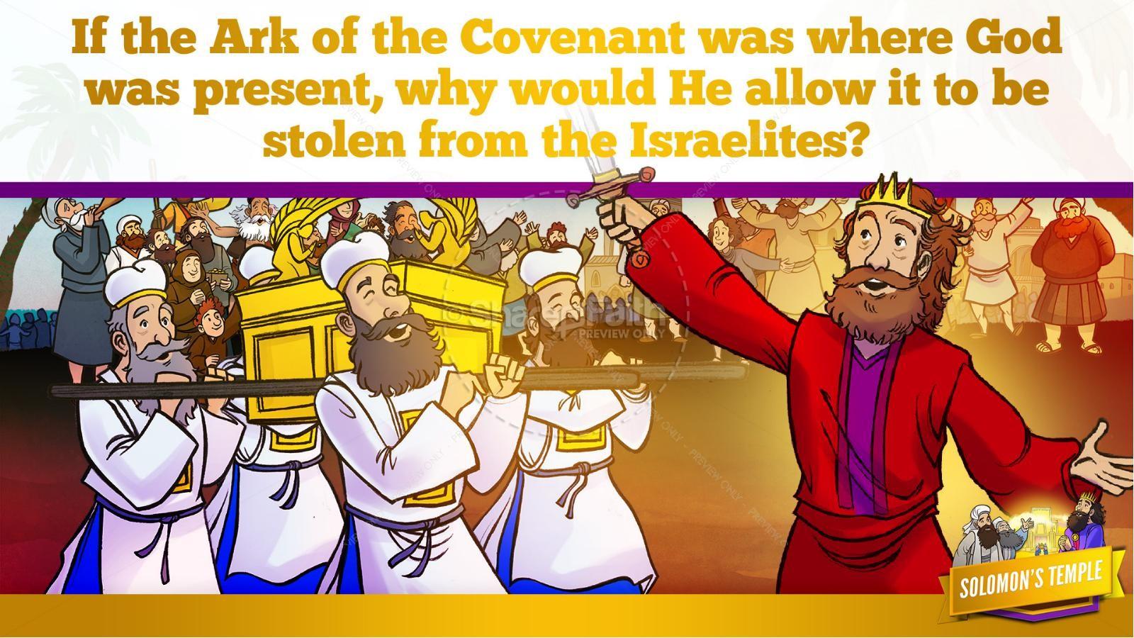 1 Kings 8 Solomon's Temple Kids Bible Story | slide 13