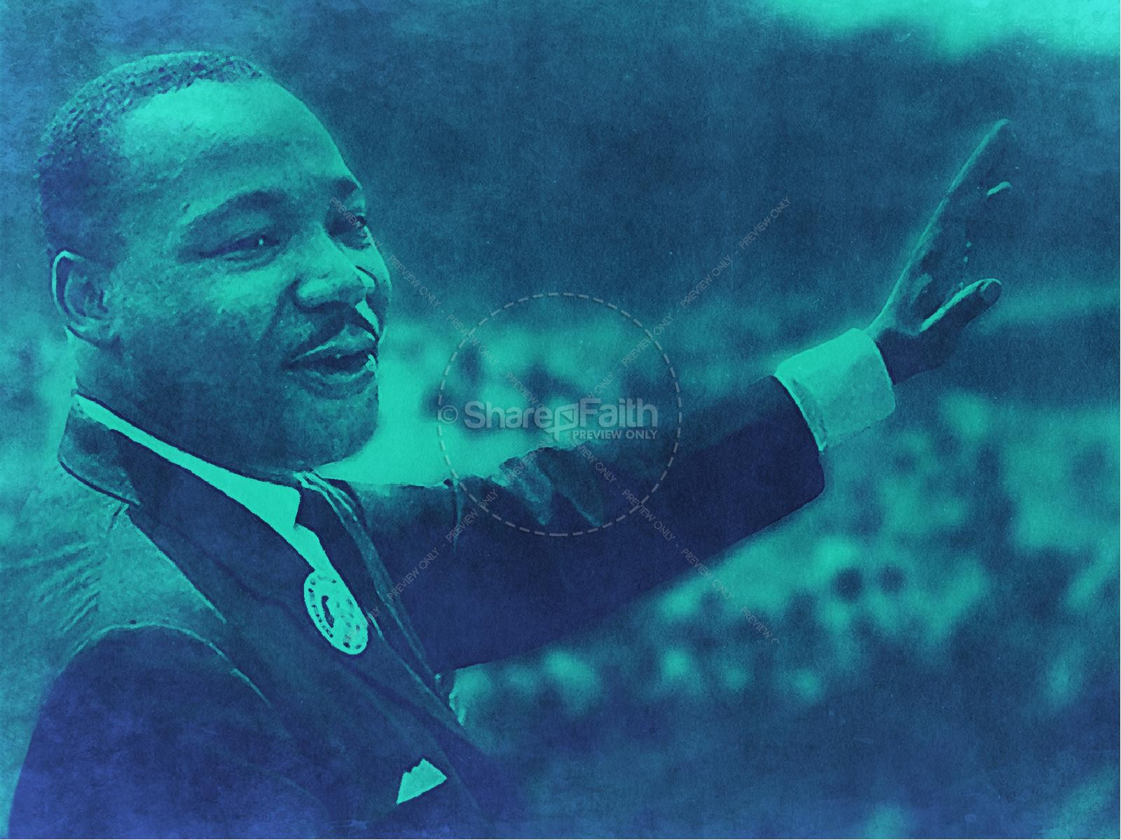 Martin Luther King Jr Day Service Graphic | slide 6
