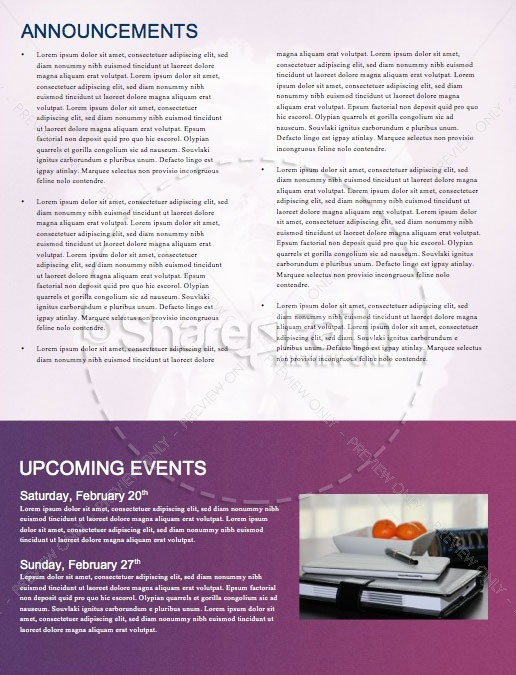 Black History Month Church Service Newsletter | page 4