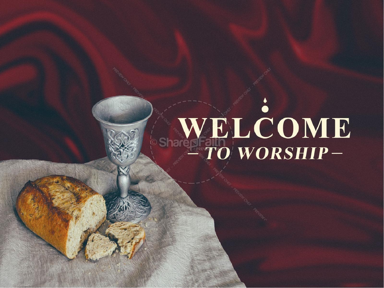Communion Sunday Service Title Graphic | slide 2