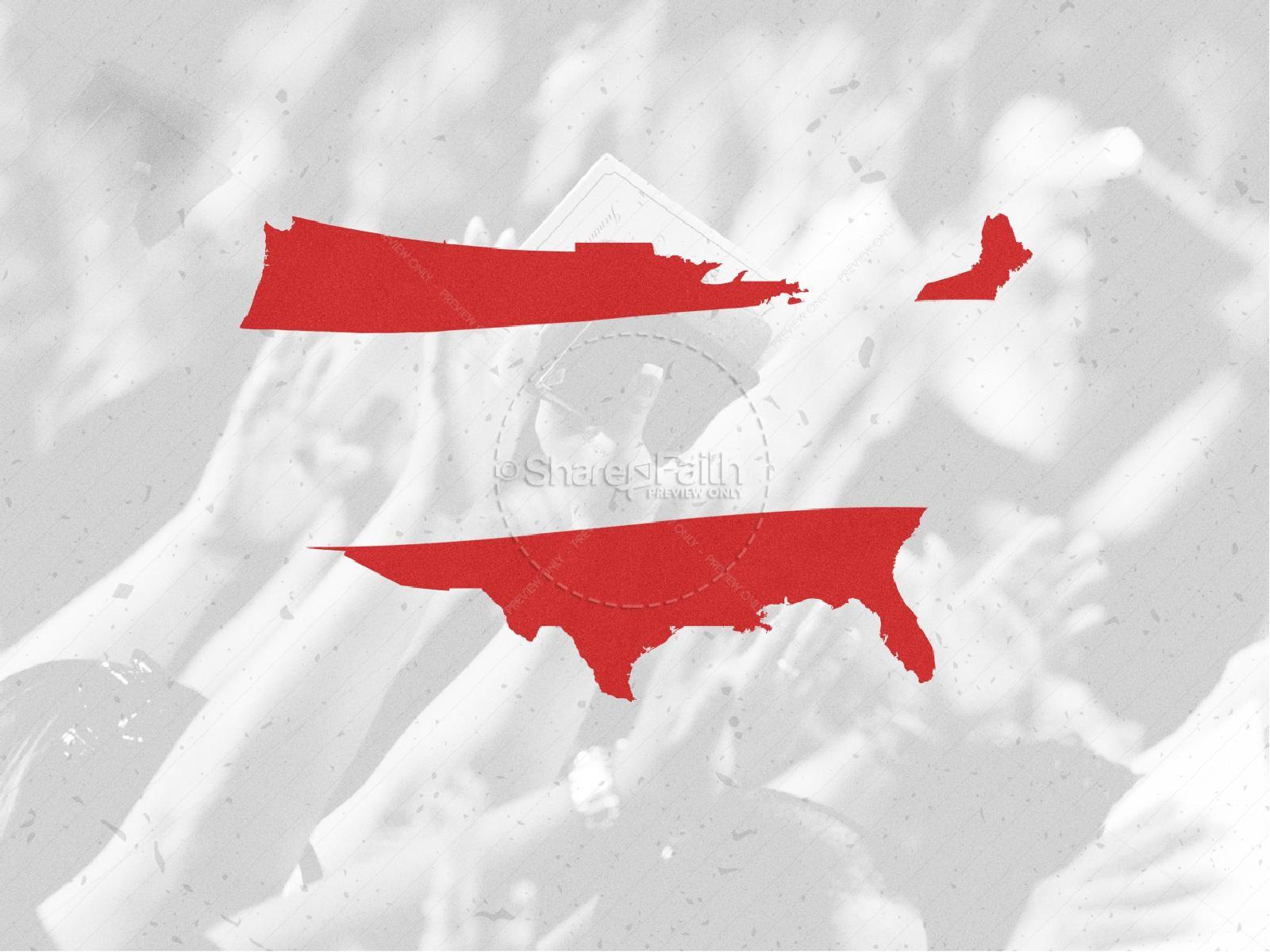 American National Day of Prayer Graphic Design | slide 6