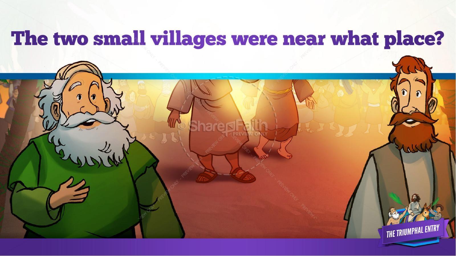 Luke 19 The Triumphal Entry Kids Bible Story | slide 11