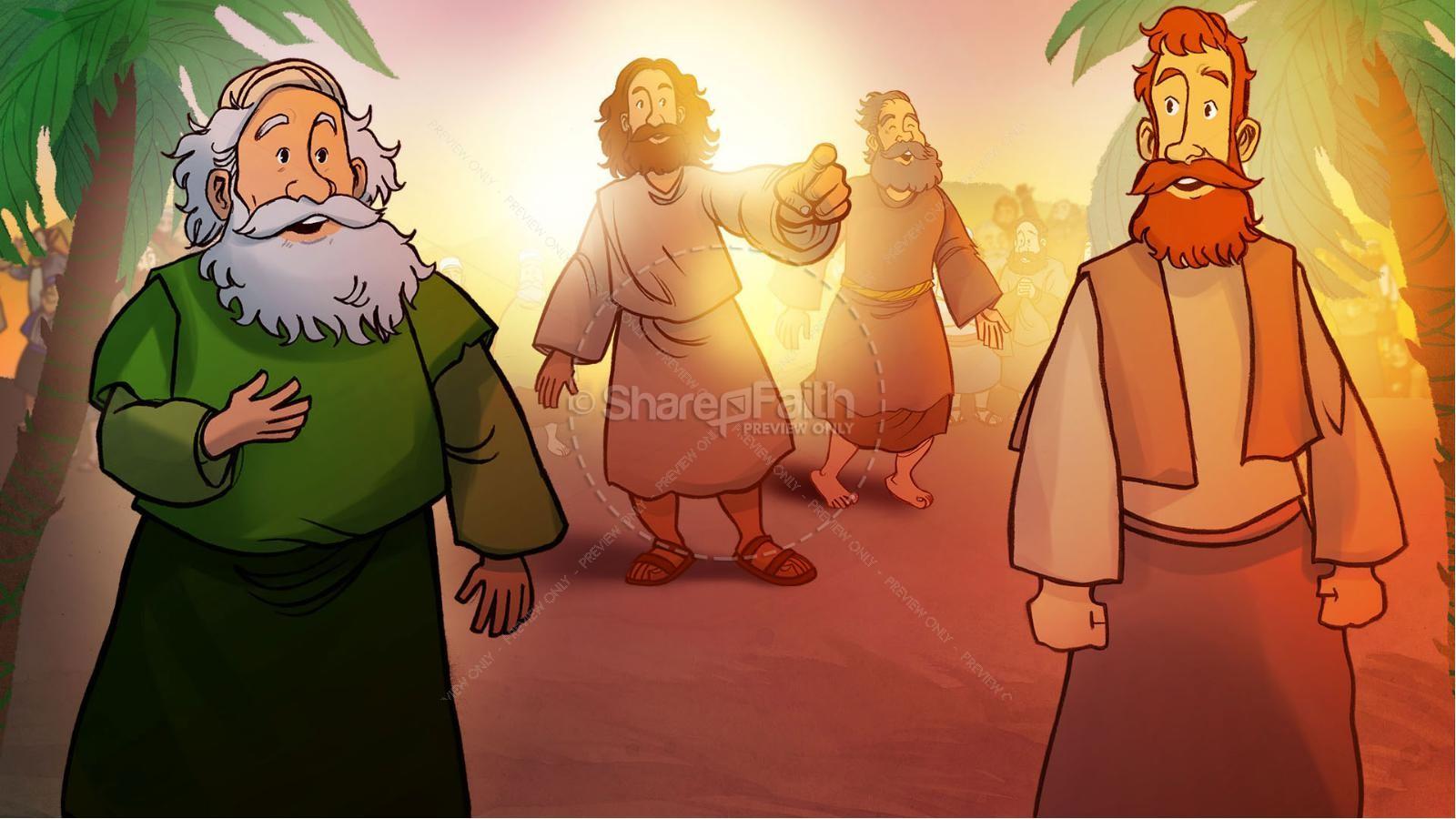 Luke 19 The Triumphal Entry Kids Bible Story | slide 2