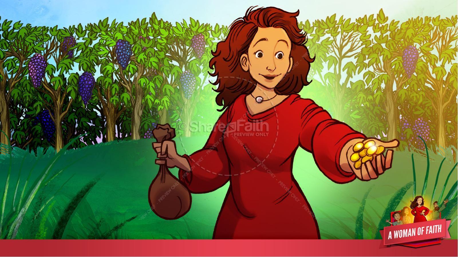 Proverbs 31 A Woman of Faith Kids Bible Story   slide 18