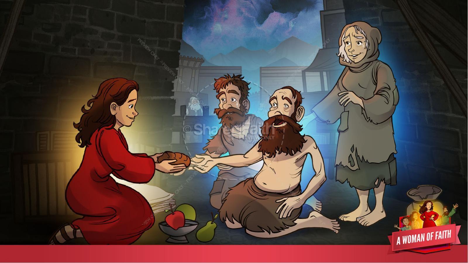 Proverbs 31 A Woman of Faith Kids Bible Story   slide 22
