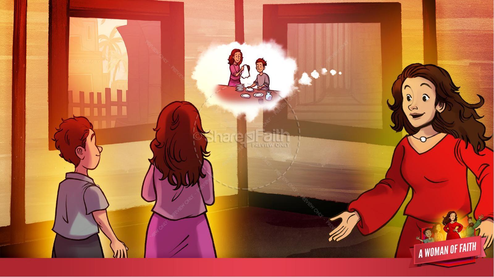 Proverbs 31 A Woman of Faith Kids Bible Story | slide 30