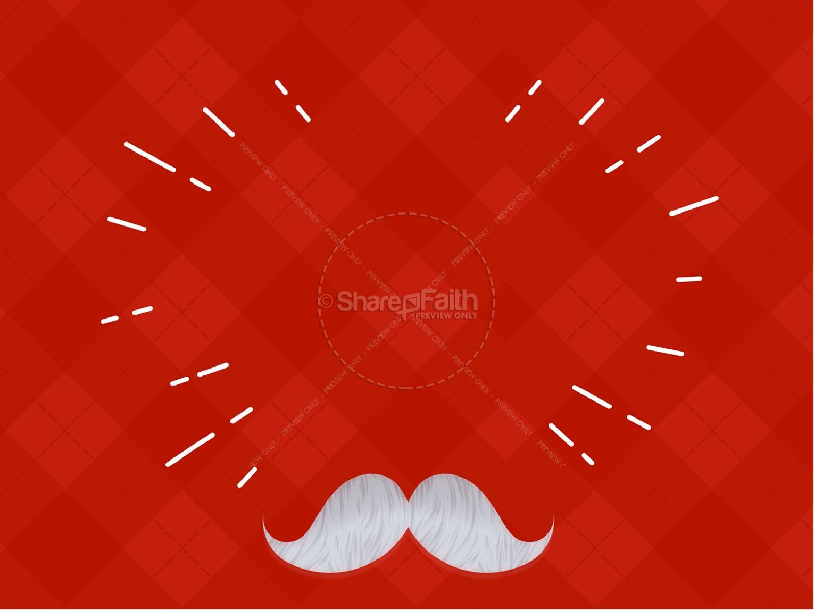Father's Day Mustache Church Service Graphic | slide 7