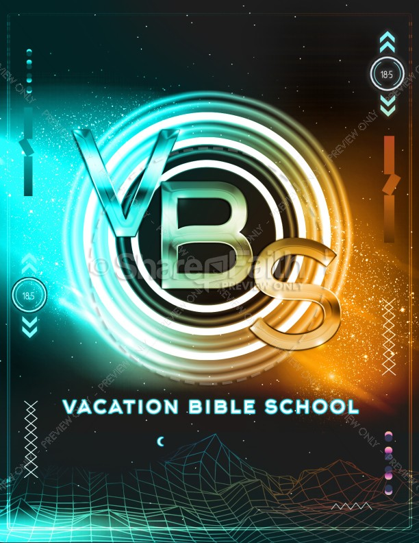 Vacation Bible School Flyer Design   page 1