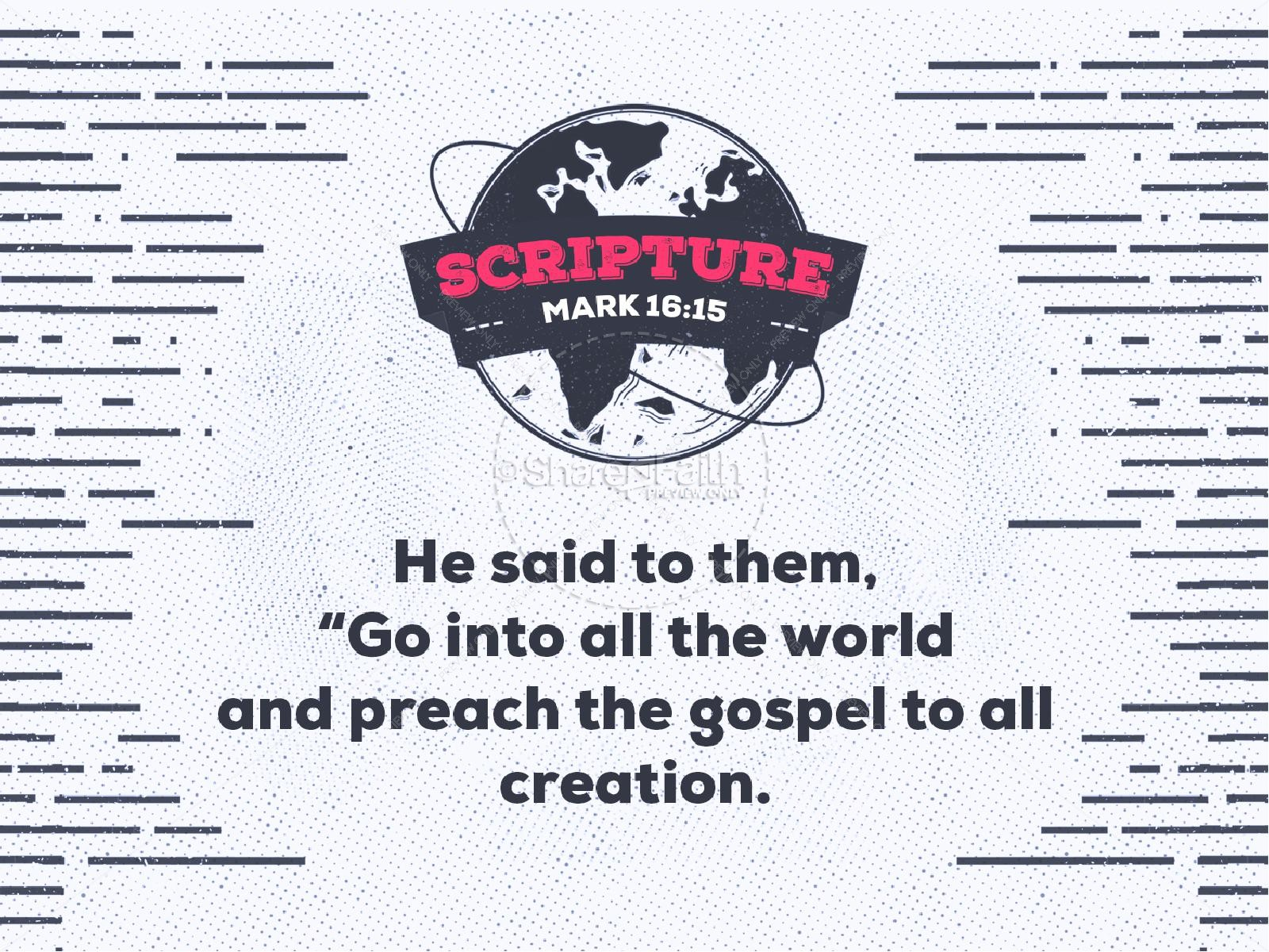 Missions Sunday Church Service Graphic | slide 4