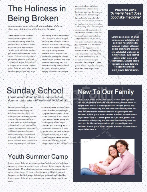 Missions Sunday Church Service Newsletter | page 2