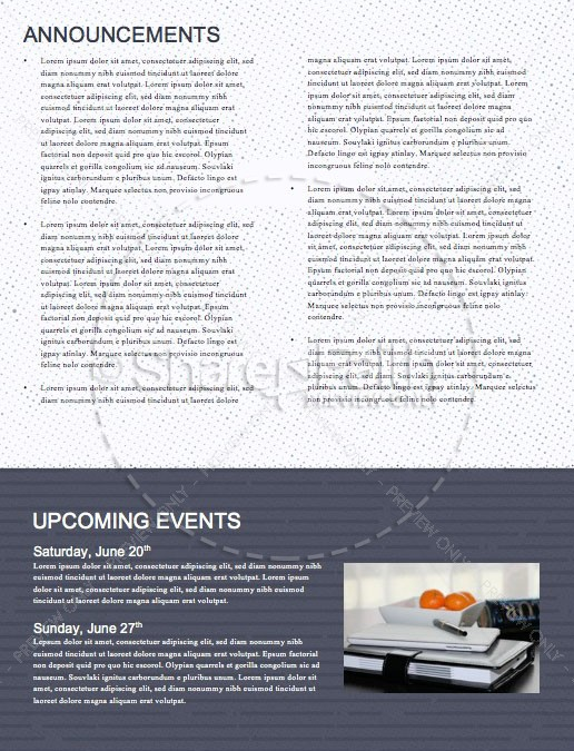 Missions Sunday Church Service Newsletter | page 4