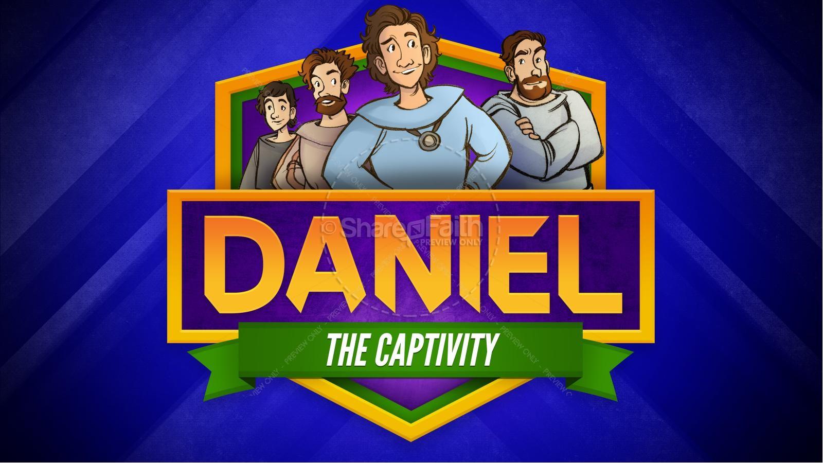 Daniel 1 The Captivity Kids Bible Story   slide 1