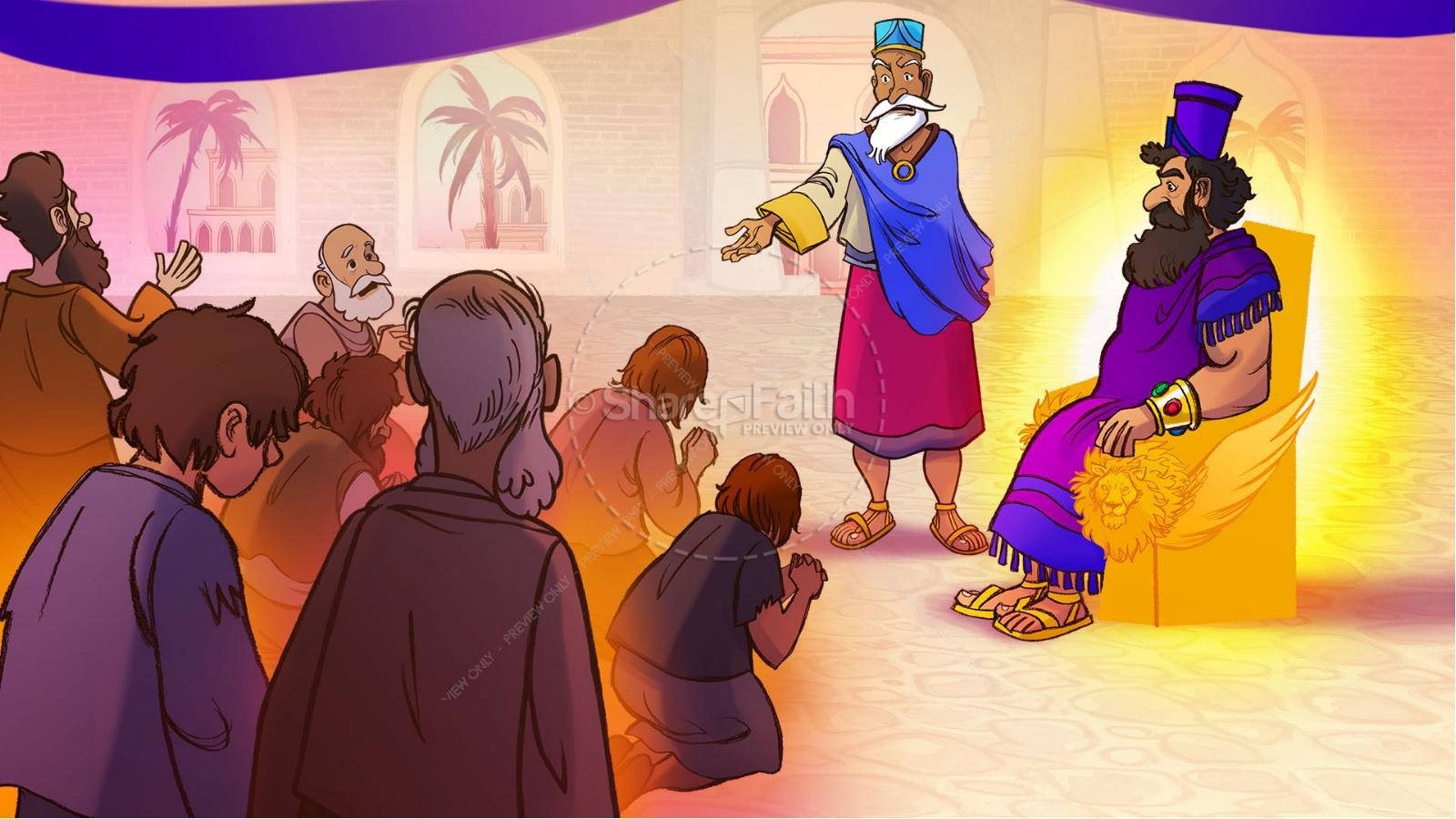 Daniel 1 The Captivity Kids Bible Story | slide 3