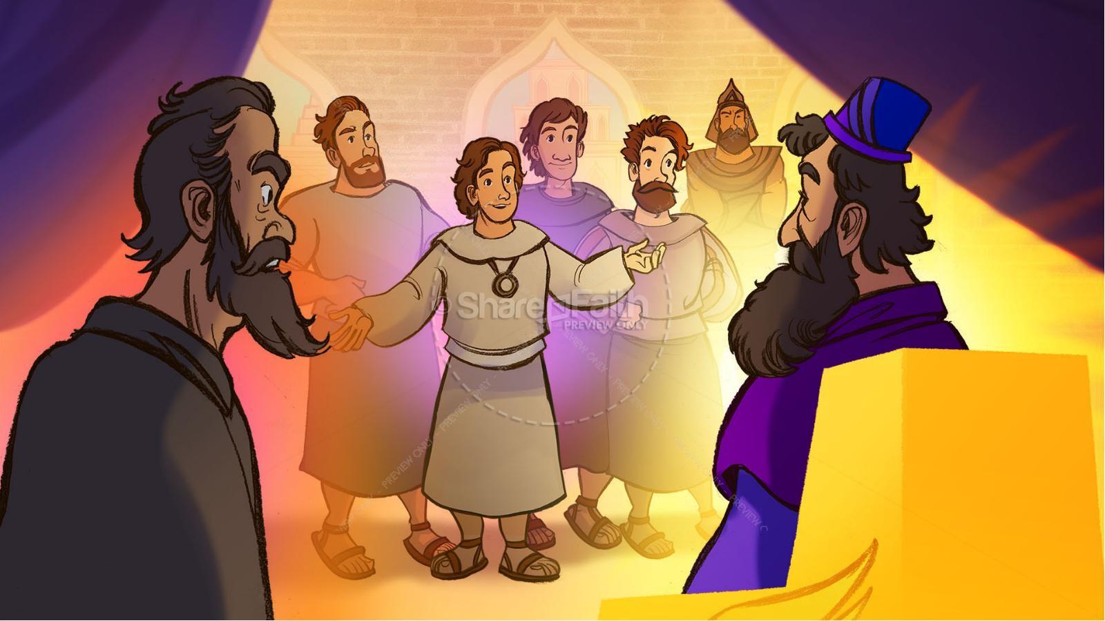 Daniel 1 The Captivity Kids Bible Story | slide 8