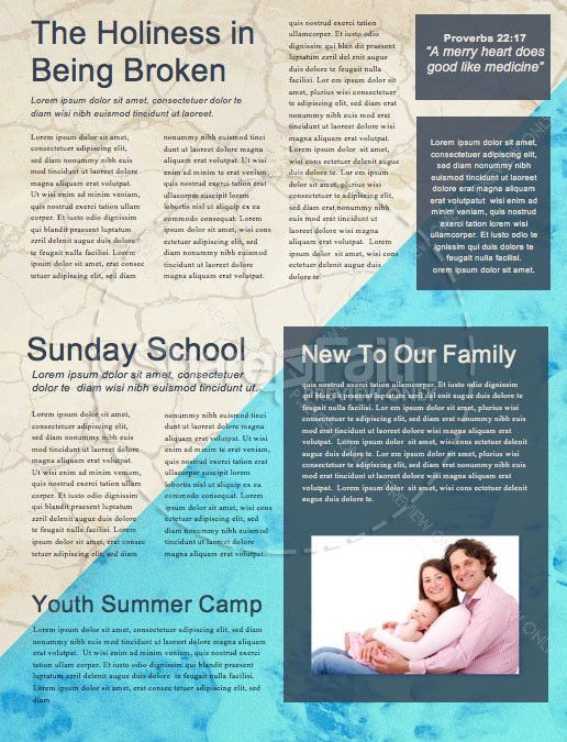 Raised To Life Baptism Church Newsletter | page 2