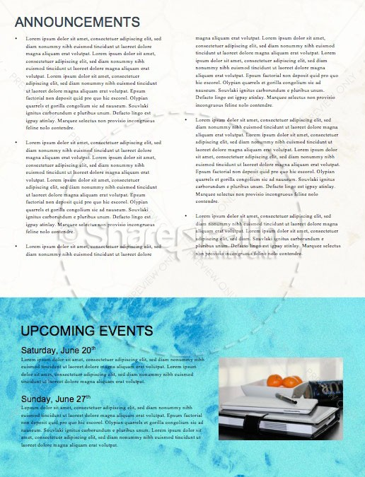 Raised To Life Baptism Church Newsletter | page 4