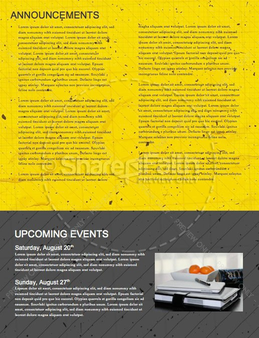 Back To School Student Ministry Newsletter   page 4