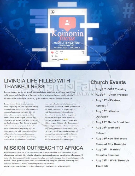 Asking For A Friend Sermon Newsletter | page 1
