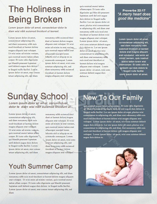 When in Doubt Church Sermon Newsletter | page 2