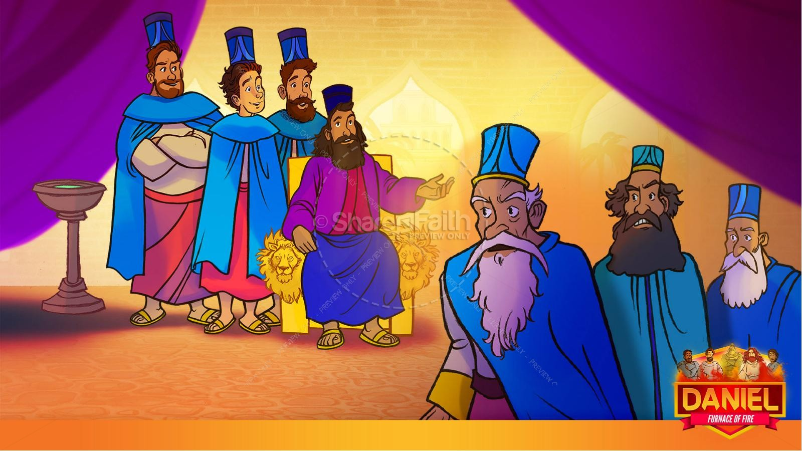 Daniel 3 The Furnace of Fire Kids Bible Story