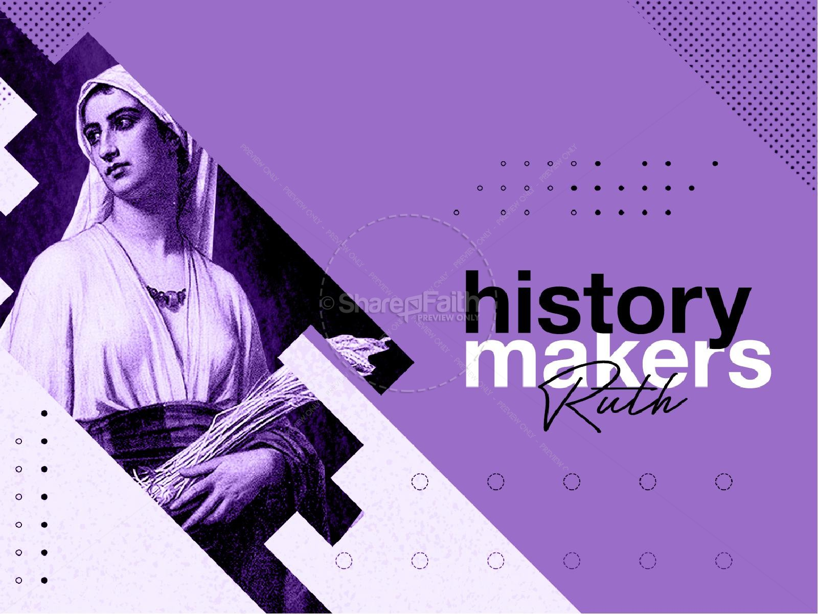 History Makers Church Sermon Powerpoint | slide 7