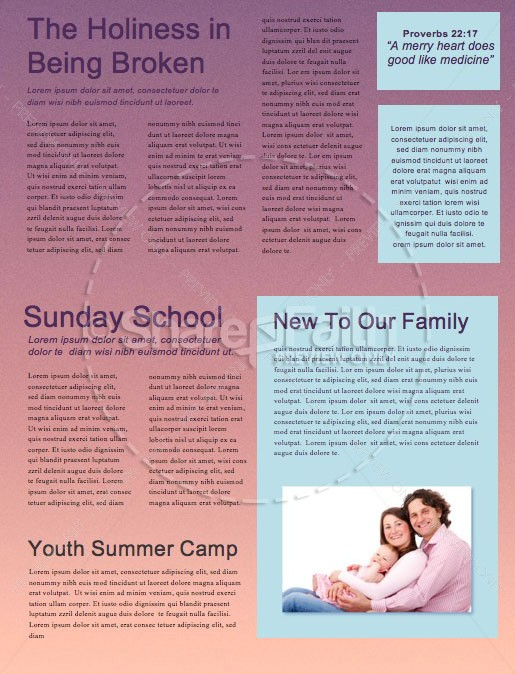 Expect More Church Sermon Newsletter | page 2