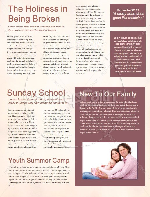 Faith Like A Child Church Newsletter | page 2
