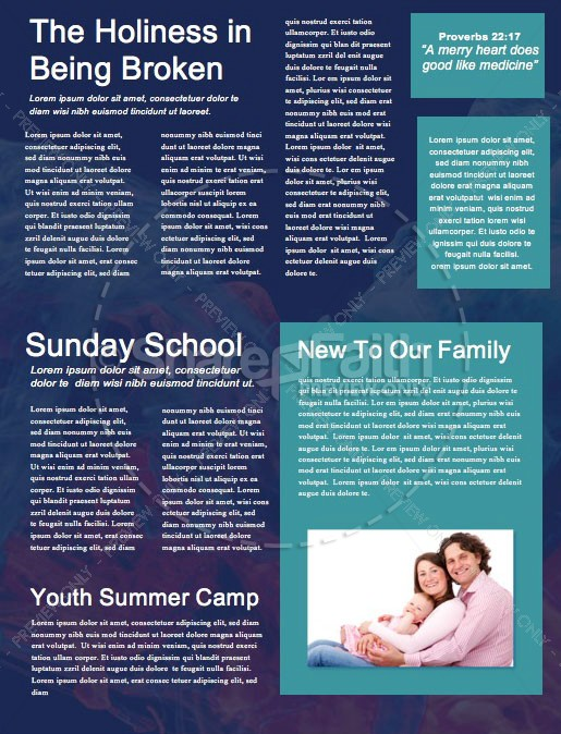 Best Year Ever Church Newsletter | page 2
