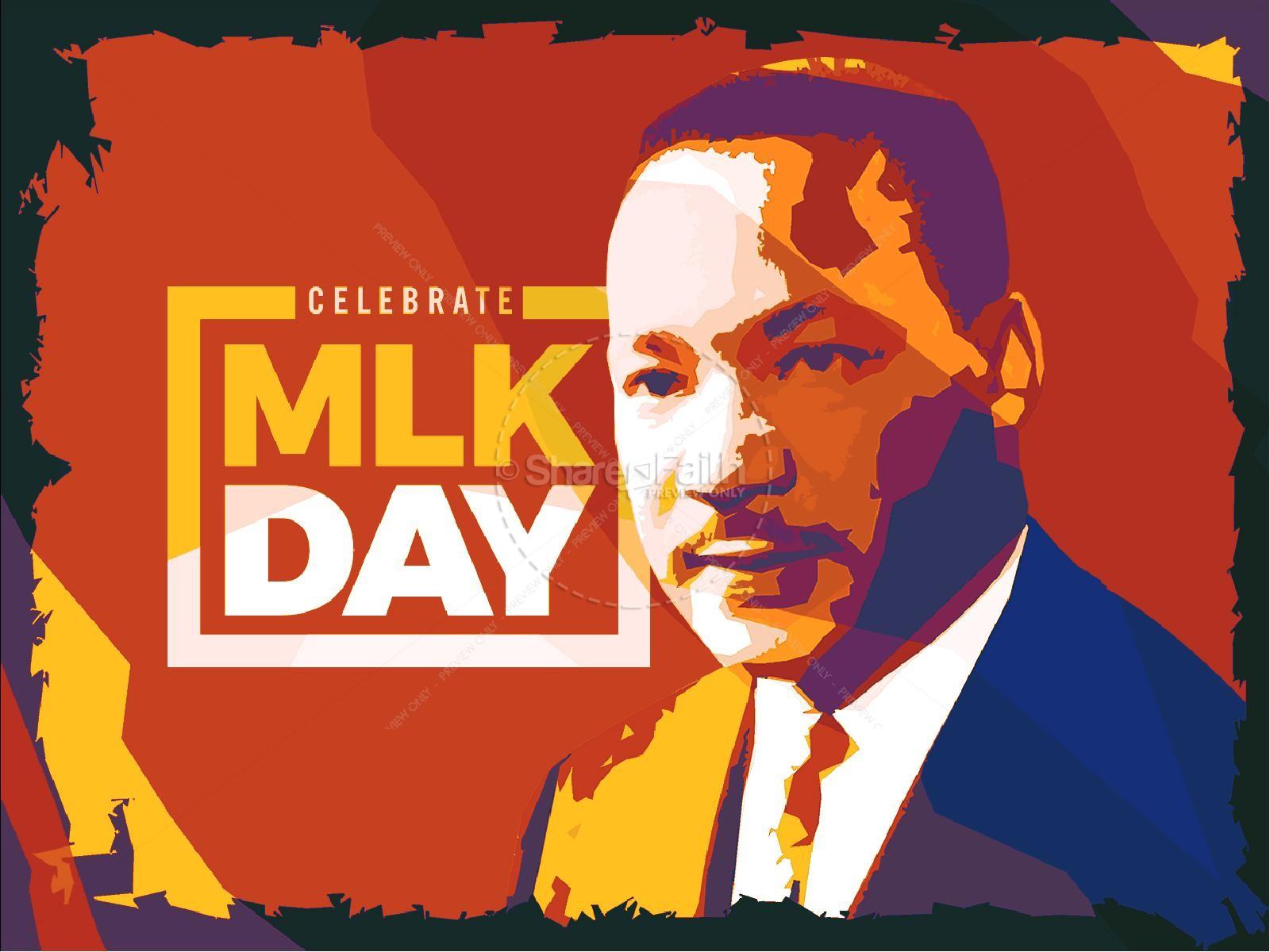 Celebrate MLK Church Powerpoint | slide 1