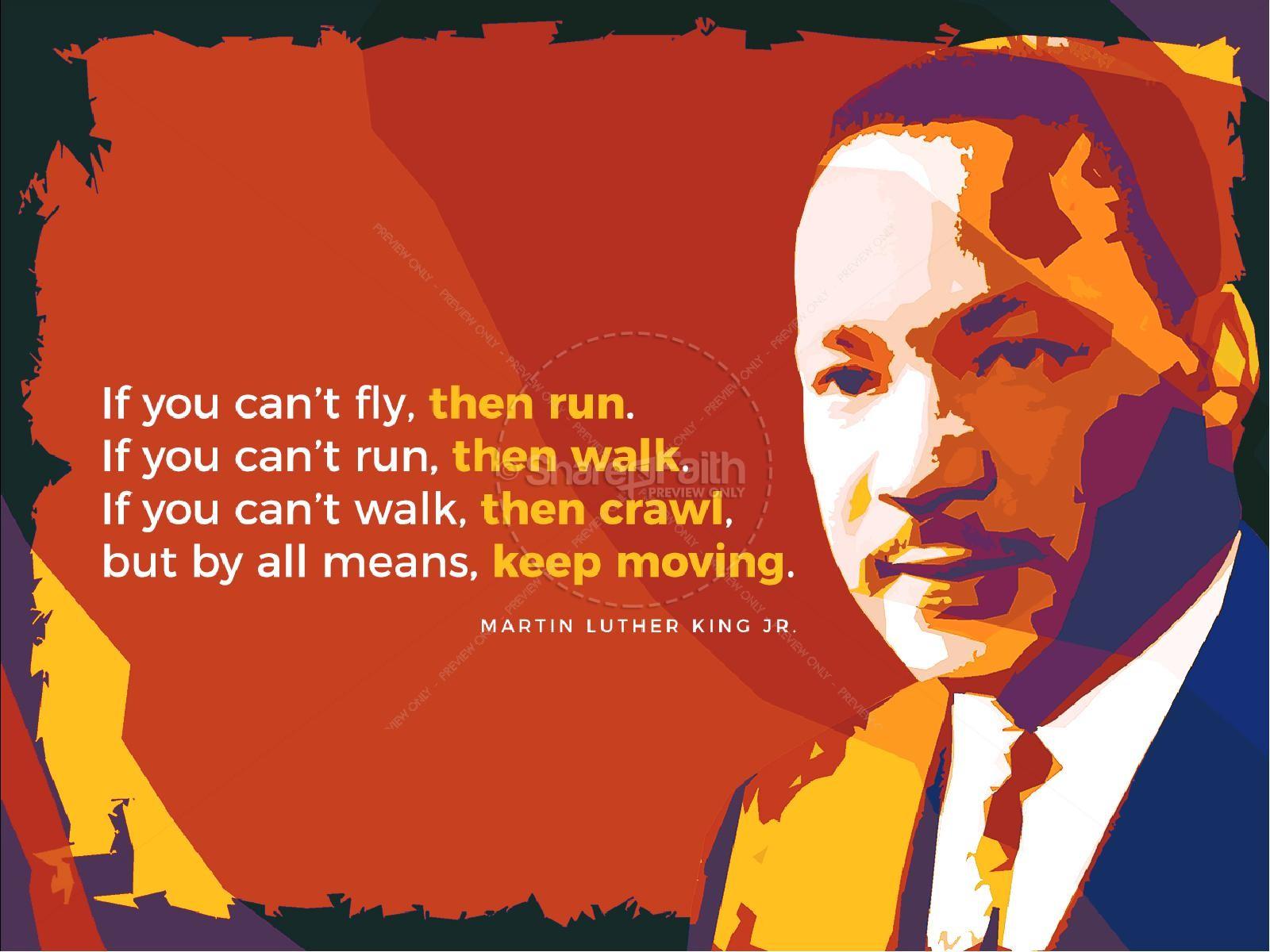 Celebrate MLK Church Powerpoint   slide 4