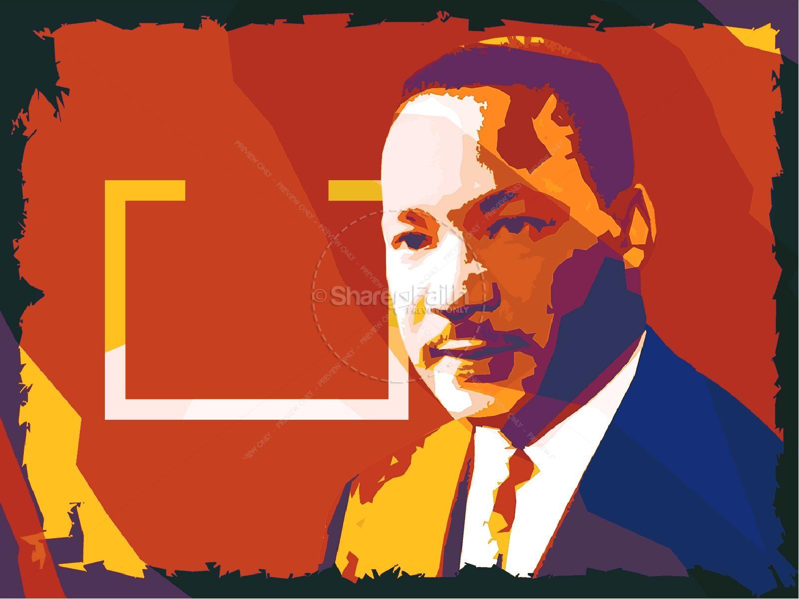 Celebrate MLK Church Powerpoint | slide 6