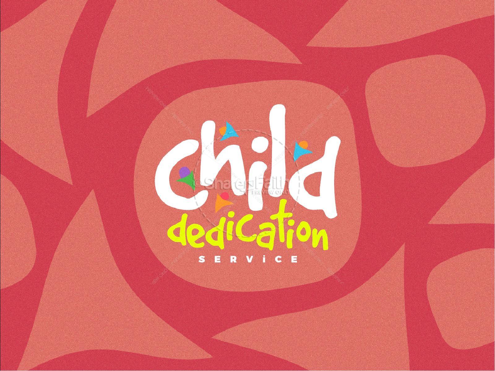 Child Dedication Church Powerpoint | slide 1