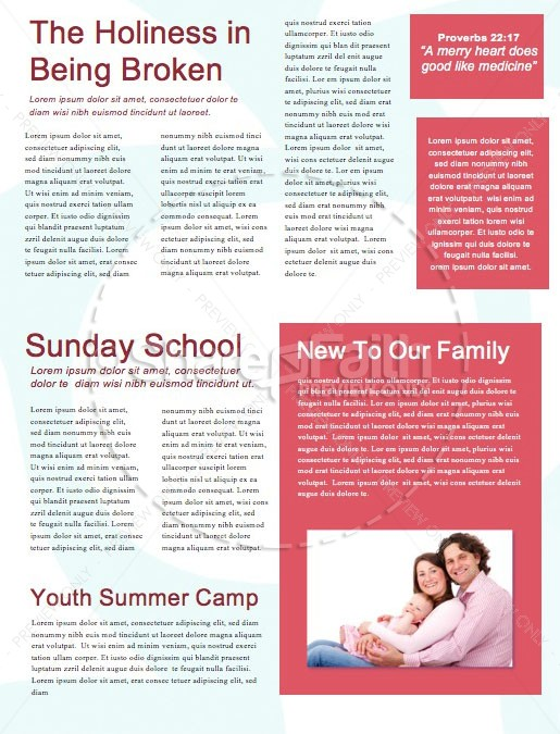 Child Dedication Church Newsletter | page 2