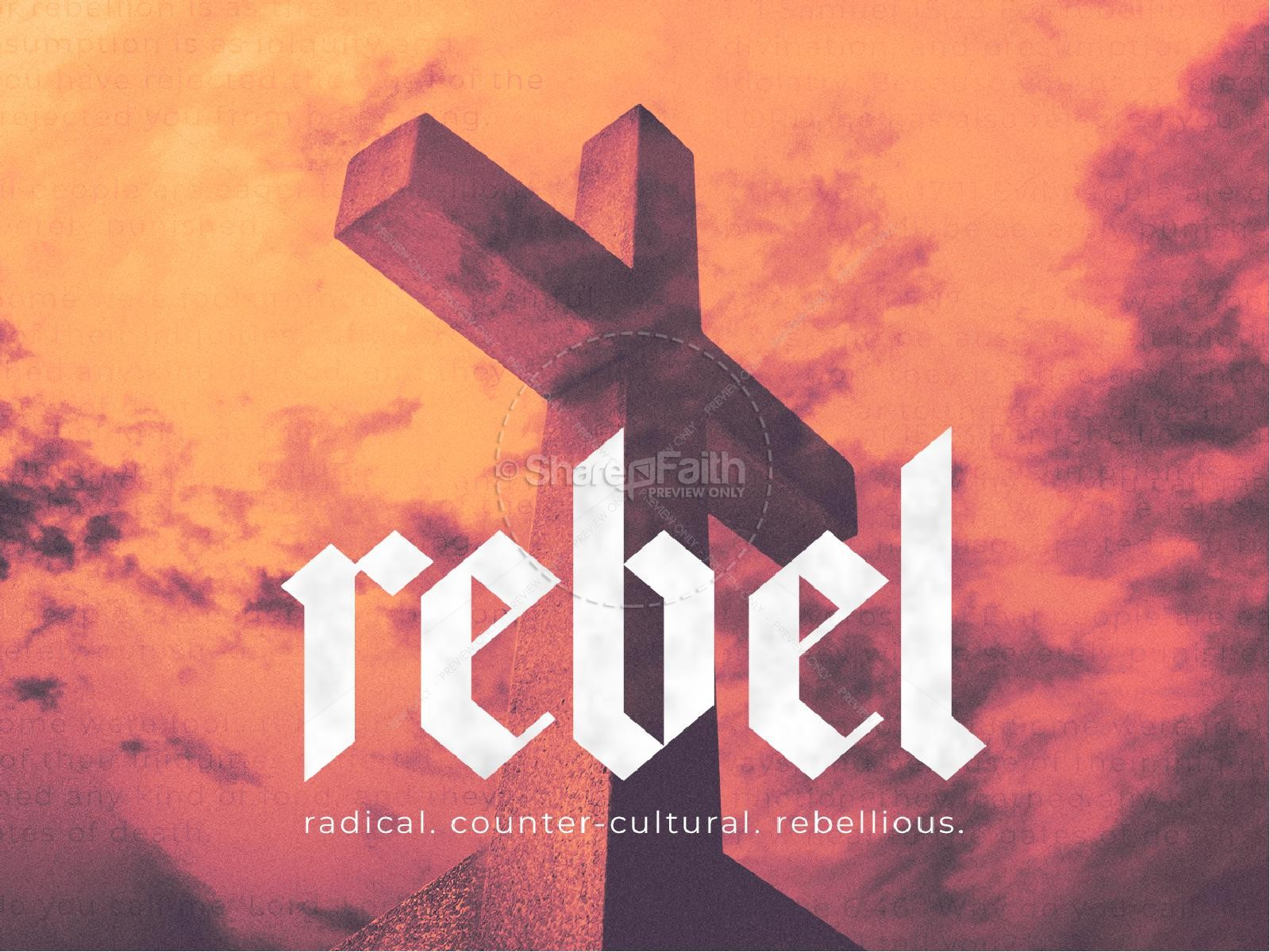 Rebel Cross Church PowerPoint