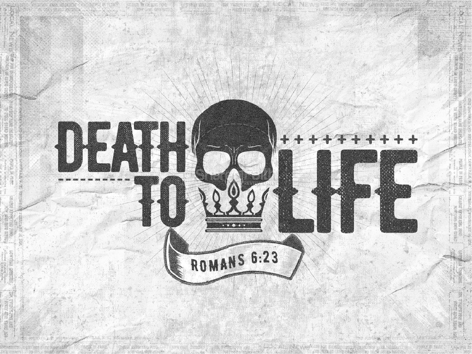 Death To Life Church PowerPoint | slide 1