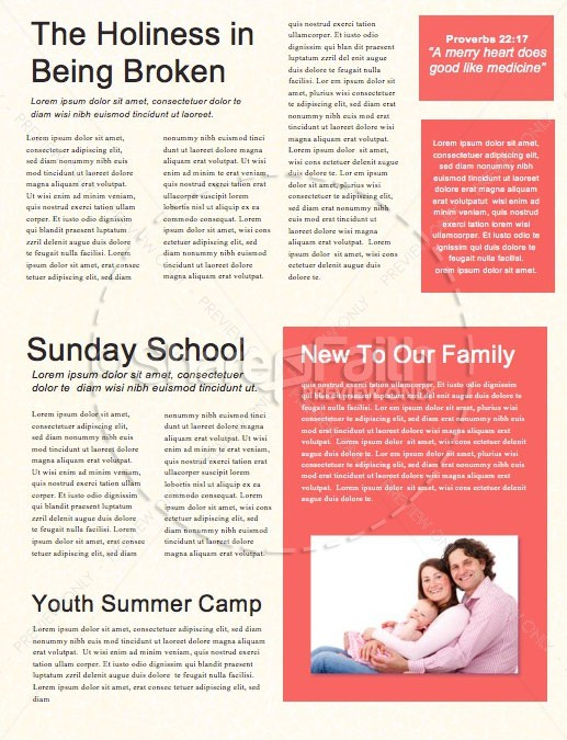 Overcome Church Monthly Newsletter | page 2