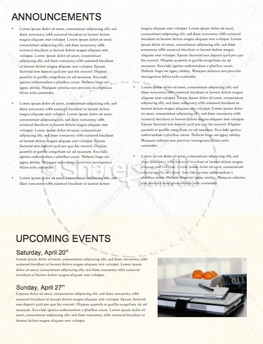 Overcome Church Monthly Newsletter   page 4