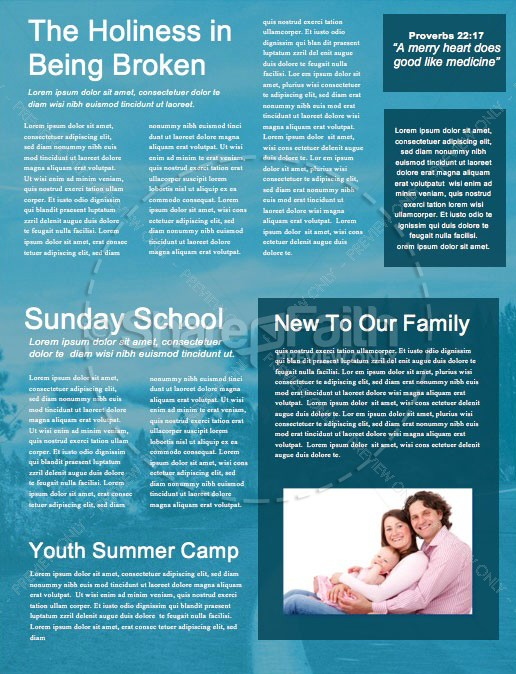 The Path Blue Church Newsletter | page 2